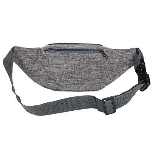 Sport-Freizeit-im Freien Multi-funktionales Taschen-Hüfte-Paket,Gray Gray