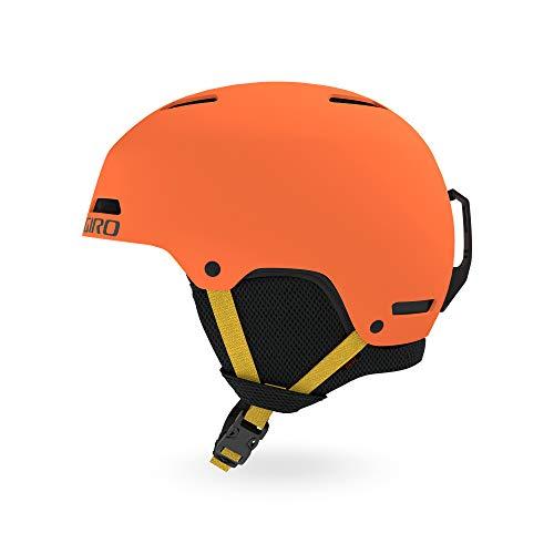 Giro Snow Unisex Jugend CRÜE Junior Skihelm, Matte deep orange, S -