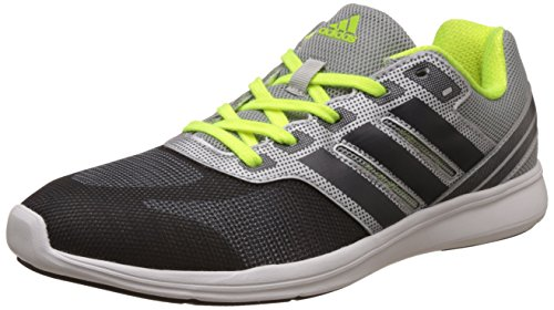 2. adidas Men's Adipacer Elite M Dkgrey, Silvmt and Syello Running Shoes - 7 UK/India (40.67 EU)