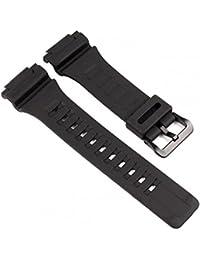 Casio 10410723 - Correa de resina , color negro (18)