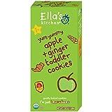 Ella's Kitchen, Cookies pour bébé, pomme et gingembre, 3.8 oz (108 g)