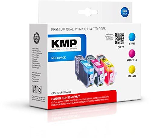 KMP Multipack für Canon PIXMA MG8150 , C83V