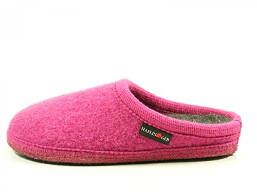 Haflinger 611086 Walktoffel uni Pantofole unisex adulto Pink