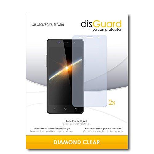 2 x disGuard® Bildschirmschutzfolie Siswoo C50 Longbow Schutzfolie Folie