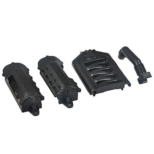 AXspeed Motor Zylinderkopf Ventildeckel für 1/10 RC Jeep Wrangler Land Rover TRX-4 Autos