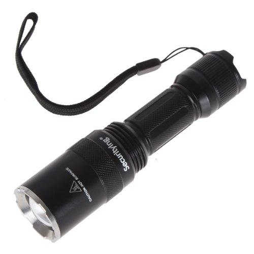 SecurityIng® Wasserdicht 5 Modes 1000LM XM-L T6 LED Zoomable Tauchen Lampe Taschenlampe Lampe Licht Beluechtung Handlampe ür Rettungs, Tauchen, Camping, Wandern, Outdoor-Aktivitäten bei Nacht