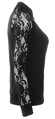 Ghope Femme À manches longues en dentelle Blazer Veste Casual de Outwear des femmes Nior