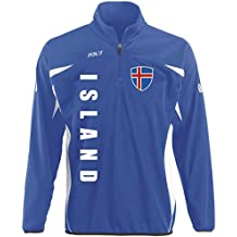 Island Sport Pullover BLAU SWEATER Trikot look