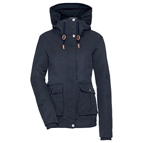 VAUDE Damen Women's Manukau Jacket Jacke, Eclipse, 40