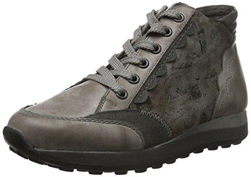 Remonte D1872, Sneakers Hautes Femme Noir (Grau/Stein/Cigar/Schwarz / 42)