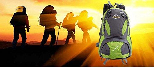 Viaggi di piacere escursionismo zaino escursionismo sacchetto impermeabile all'ingrosso borsa campeggio,red Yellow