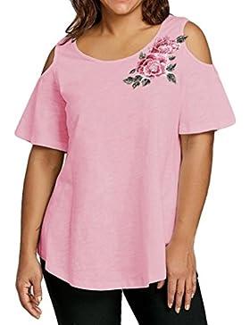 FAMILIZO Camisetas Mujer Verano Blusa Mujer Elegante Camisetas Mujer Manga Corta Algodón Camiseta Mujer Camisetas...