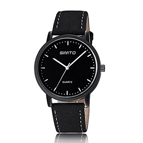 Man, quartz watch, fashion, personality, simplicity, PU