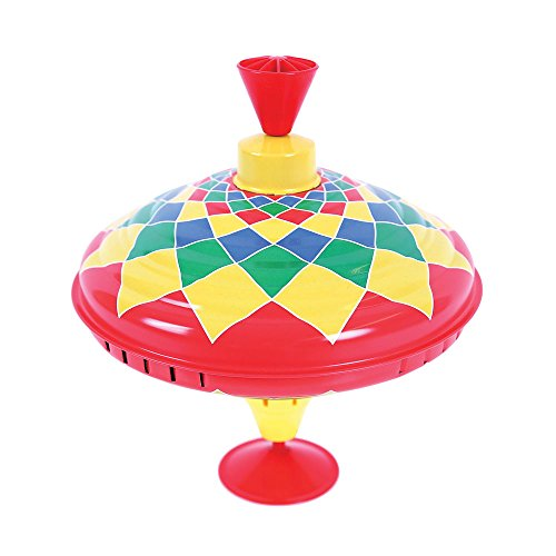 Bigjigs Toys Trottola di Latta