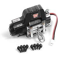 Qiilu Cabrestante Electrico Cabrestante de Recuperaci/ón El/éctrico 4000 lbs 12V/para ATV Coche