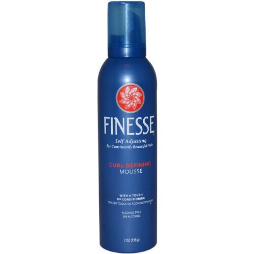 Finesse Self Adjusting Curl Defining Mousse, 7 Ounce (Pack of 3) by Lornamead -