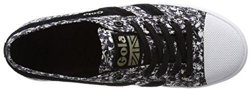 Liberty White Weiß Sneaker Damen black Gola Coaster 4EqAnp