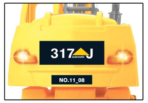 RC Auto kaufen Baufahrzeug Bild 4: Jamara 403790 - RC Bagger 317J 1:24 3 Kanal inklusive Fernsteuerung*