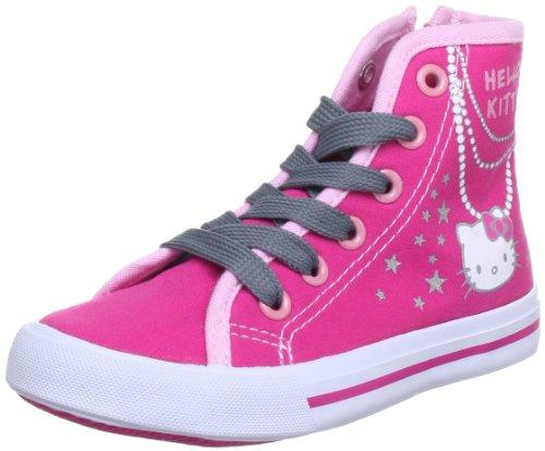 Hello Kitty HK NEVA 257240-31, Mädchen Sneaker, Pink (Pink 21), EU 31 (Hello Kitty Schuhe Mädchen)