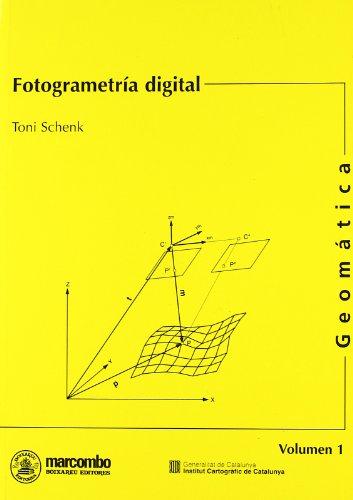 Fotogrametría Digital (ACCESO RÁPIDO) por Toni Schenk