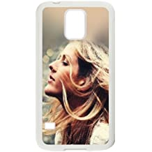 Samsung Galaxy S5 Cell Phone Case White Ellie Goulding Flowers Tbblo