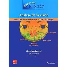 Analyse de la vision : Tome 2, Vision binoculaire - contactologie