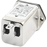 CW2A-6A-T AC 115V / 250V 6A una fase IEC320 C14 Entrada de potencia Filtros EMI