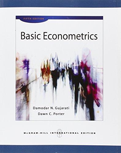 Basic econometrics (Scienze)