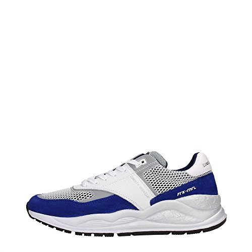 Frankie Morello 07CW Sneakers Uomo Tessuto Cobalto/White Cobalto/White 45