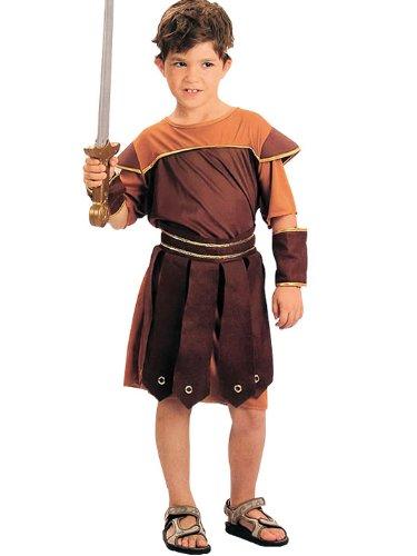 Imagen de disfraz de niño de soldado romano. 6  9 años alternativa