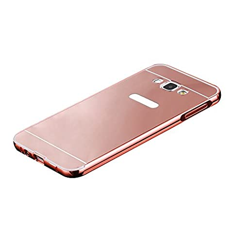 Skitic Electroplating Effet Coque pour Samsung Galaxy A7 (2015), Ultra-Mince