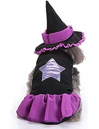 WENXX Cachorro Chihuahua Ropa Cachorro Ropa De Invierno Cachorro Vestido Ropa Ropa De Halloween S,
