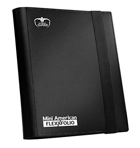 Ultimate Guard Mini American Flexxfolio Porte-Cartes de Jeu 9Pochettes Noir