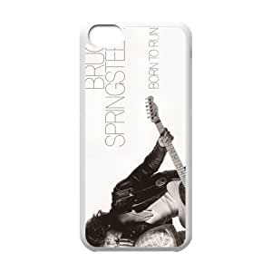 Welcome! Bruce Springsteen American Rock Star In 70s Iphone 5c Case Cover-Best Protective Hard Plastic Cover