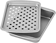 OvenStuff Non-Stick Toaster Oven Bake, Broil and Roast Set - Non-Stick Baking Pan Set, Easy to Clean and Perfe