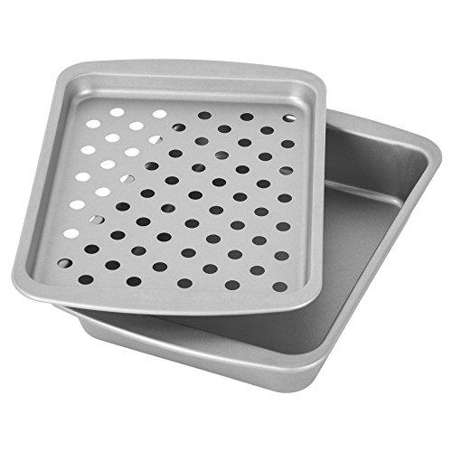 OvenStuff Antihaft Toaster Backen Backen Backen Broil und Bräter Set - Antihaft Backpfannen-Set, einfach zu reinigen und perfekt für einzelne Portionen (Toaster Ofen Backen Pfanne)