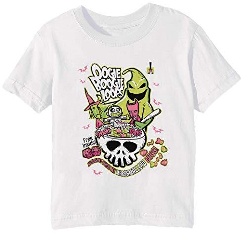 nisex Jungen Mädchen T-Shirt Rundhals Weiß Kurzarm Größe 2XS Kids Boys Girls T-Shirt XX-Small Size 2XS ()