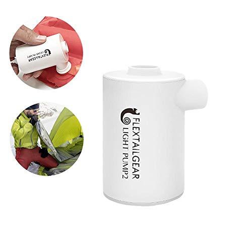 Bomba Inflable con Cargador USB Bomba de Aire portátil Ultraligera para Exteriores Adecuada para la Piscina de Juguete con colchón de Aire Exterior