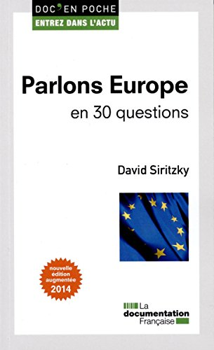 Parlons Europe en 30 questions