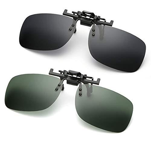 Gafas sol clip lente polarizada Flip Up