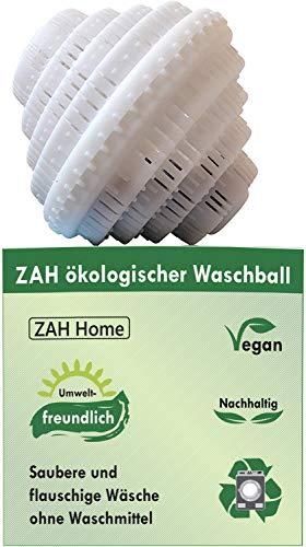 ZAH ökologischer Waschball, Saubere und flauschige Wäsche ohne Waschmittel, Umweltfreundlich, Biologischer Waschbal, Waschkugel, Bio Waschball, Bio Wäsche, Vegan, Bio Waschmittel, Nachhaltige Produkte