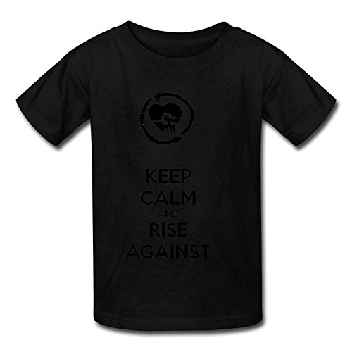 Goldfish Youth Fashion Slim Fit Rise Against T-Shirt XLarge