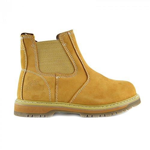 Kick Footwear - Groundwork - Chaussures Unisexes Pour Adultes, Chaussures De Sécurité Pour Hommes Boots De Neige Pour Hommes