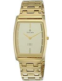 Titan Edge Analog White Dial Men's Watch -NH1044YM07A