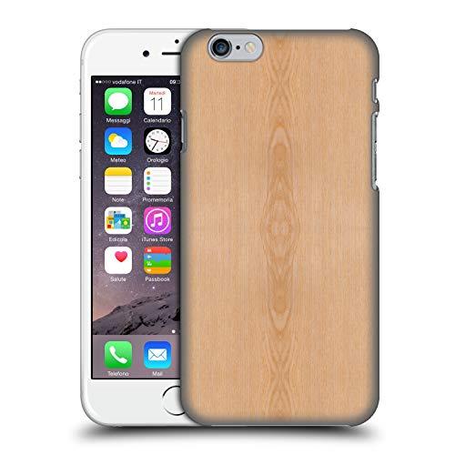 Head Case Designs Offizielle PLdesign Helles Braunes Korn Holz Und Rost Drucke Harte Rueckseiten Huelle kompatibel mit iPhone 6 / iPhone 6s (Case Iphone 6 Aus Holz-korn)