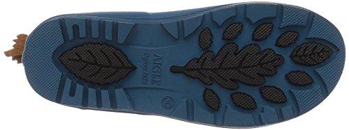 Aigle Unisex-Kinder Woody Pop Gummistiefel Blau (bluebird A)