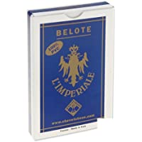 Jeu de 32 cartes : Belote 100% PVC