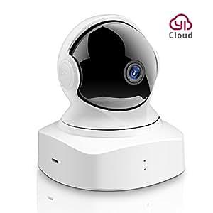 YI 1080P HD Dôme Caméra de Surveillance Ip Caméra Cloud WiFi sans Fil PTZ Pan / Tilt / Zoom Surveillance de Sécurité Intérieur Détection de Mouvement, Vision Nocturne