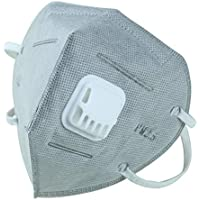 SUPVOX Máscaras antipolvo desechables para respirador máscara de neblina máscara desechable máscara no tejida 6pcs (gris)