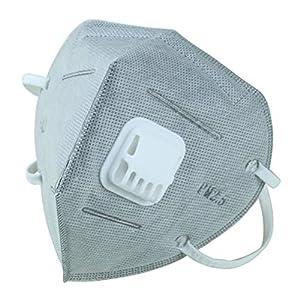 HEALIFTY 6 Stücke Haze Mask Staubmaske Antustust Baumwolle Mundmasken Vliesstoffe Schutzmaske (Grau)
